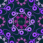 Rondo Violett Nahtloses Vektor Muster
