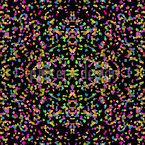 Konfetti Auf Spiegelgrund Nahtloses Vektormuster