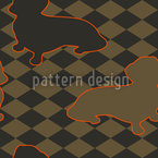 Dachshunds Master Is Check Mate Pattern Design