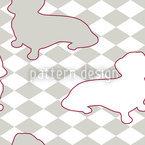 Dackel Setzt Frauchen Schachmatt Musterdesign