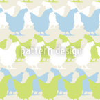 Beauties From Henndorf Seamless Vector Pattern Design