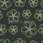 Flowers Pass Away Seamless Vector Pattern