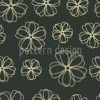 Flowers Pass Away Seamless Vector Pattern Design