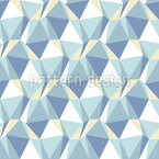 Dimensions On Ice Seamless Vector Pattern Design