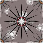 Sternenstrahlen  Muster Design