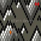 Checkered Mountain High Pattern Design