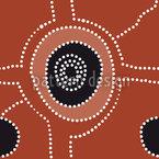 Cruzamento Outback Design de padrão vetorial sem costura