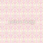 Strawberry On Striped Baroque Seamless Vector Pattern Design