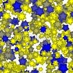 Brillanti stelle invernali disegni vettoriali senza cuciture
