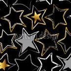 Sternennaht Nahtloses Vektormuster