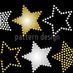 Magic Pearls Seamless Vector Pattern Design