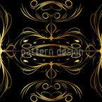 Gesponnenes Gold Musterdesign
