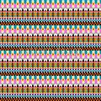Mein Volk Der Guarani Kaiowa Muster Design