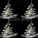Weihnachtsbaum Mit Goldbehang Designmuster