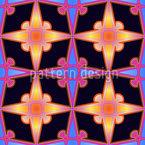 Fantasia Stellar Seamless Pattern