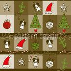 Weihnachten Im Holzkasten Vektor Design
