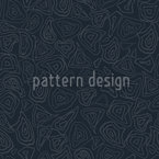 Batik Stones Smokey Blue Repeat Pattern