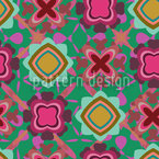 Boogie On The Flor Seamless Pattern