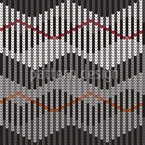 Sergios Strickdiagramm Nahtloses Vektor Muster