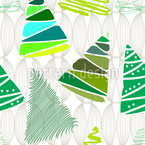 Christmas Tree Variations Repeat Pattern