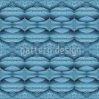 Blue Wonderland Seamless Vector Pattern Design