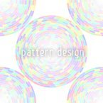 Soft Hypnotic Mandala Seamless Vector Pattern Design