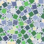 Мозаичные квадраты Бесшовный дизайн векторных узоров