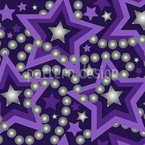 Perla Stellar Seamless Vector Pattern Design