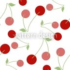 Cherries For Dessert Vector Ornament