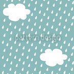 It's Raining Seamless Vector Pattern Design