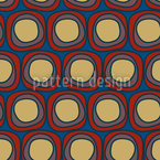 Round Rounds Seamless Vector Pattern Design