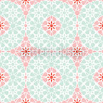 Winterbloom Seamless Vector Pattern Design