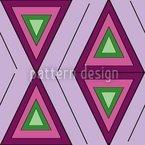 Die Farben Des Dreiecks Nahtloses Vektormuster