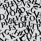 Perpetuas Buchstaben Rapportmuster