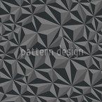 Papier Geometrie Dunkelgrau Nahtloses Vektormuster