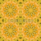 Pandora Floral Seamless Vector Pattern Design