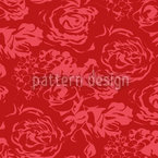Romantic Roses Seamless Vector Pattern Design