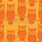 Owl Look Pattern Design