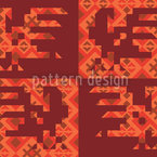 Anitas Ethno Rooster Seamless Vector Pattern Design
