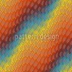 Regenbogen Tropfen Rapportiertes Design