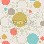 紙吹雪ブルーム シームレスなベクトルパターン設計