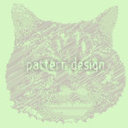 Cat Memory Seamless Vector Pattern
