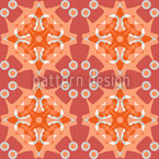 Rosetta Terra Seamless Vector Pattern Design