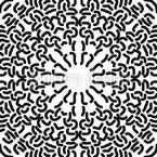 Gotik Meets Pop Art Nahtloses Vektor Muster