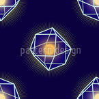 Polygons Shine Seamless Vector Pattern Design