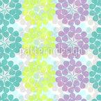 Kleeblüte Pastell Musterdesign