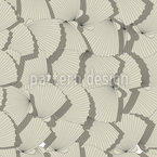 Sea Shell Fan Vector Pattern