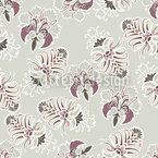 Lush Flora Pastel Repeat Pattern