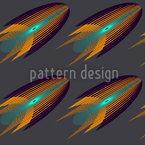 Raketa Seamless Vector Pattern Design