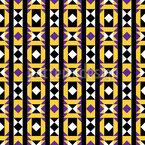 Geometrie Latin Musterdesign
